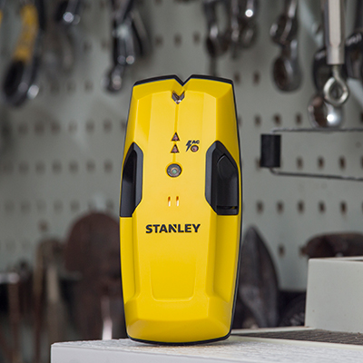 STANLEY<sup>&reg;</sup>  Stud Sensor -  Detect the location of studs up to 3/4-inch thick with this easy-to-use stud sensor. Features automatic calibration and marking channel to help you find the studs, with both sound and light indication.  Also features live-wire detection.