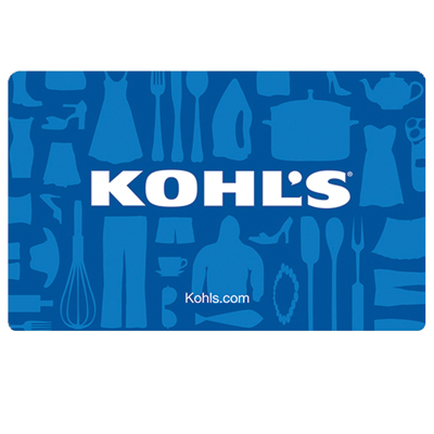 KOHL'S<sup>&reg;</sup> $25 Gift Card - Kohl's department stores are stocked with everything you need for yourself and your home.  Shop for the best merchandise at the best prices.