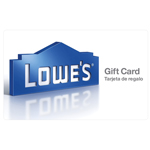 LOWE'S HOME IMPROVEMENT<sup>®</sup> $25 Gift Card