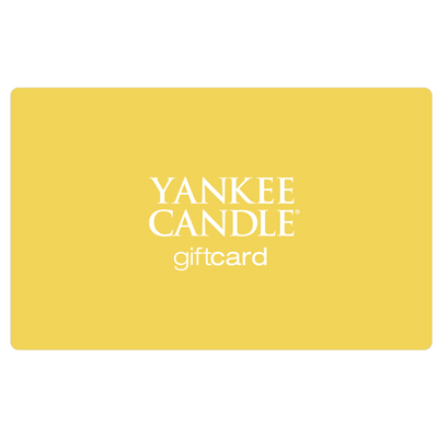 YANKEE CANDLE<sup>®</sup> $25 Gift Card - Buy scented candles and the latest seasonal fragrance!